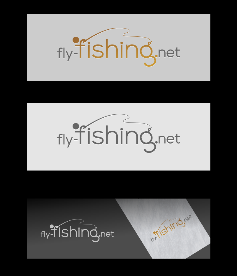Logo Design by graphicleaf - Entry No. 28 in the Logo Design Contest Artistic Logo Design for fly-fishing.net.