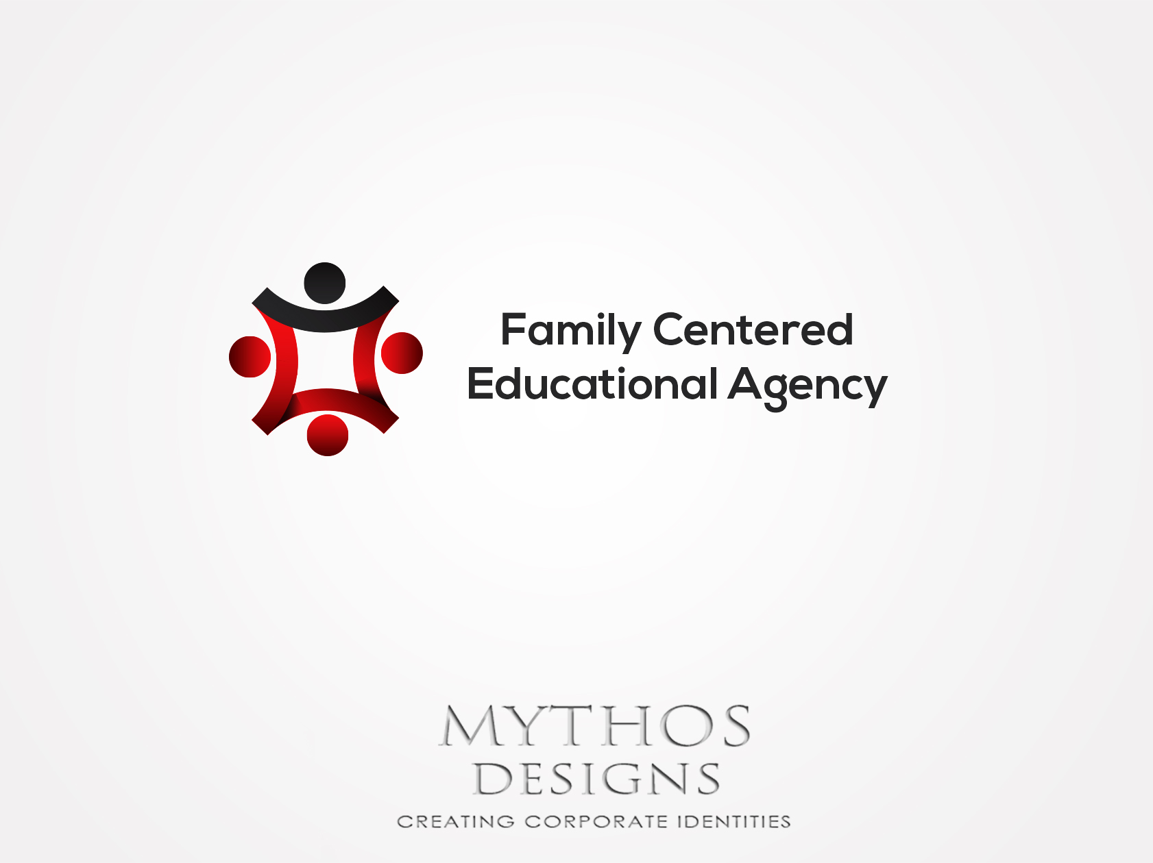 Logo Design by Mythos Designs - Entry No. 22 in the Logo Design Contest Captivating Logo Design for Family Centered Educational Agency.
