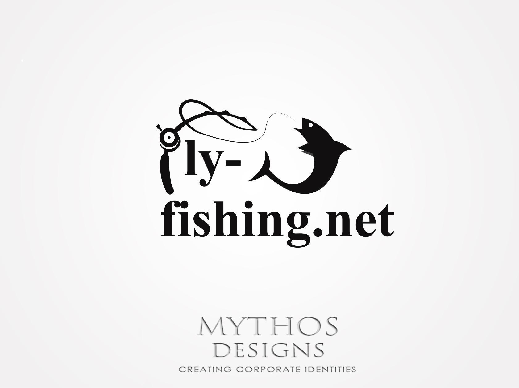 Logo Design by Mythos Designs - Entry No. 30 in the Logo Design Contest Artistic Logo Design for fly-fishing.net.