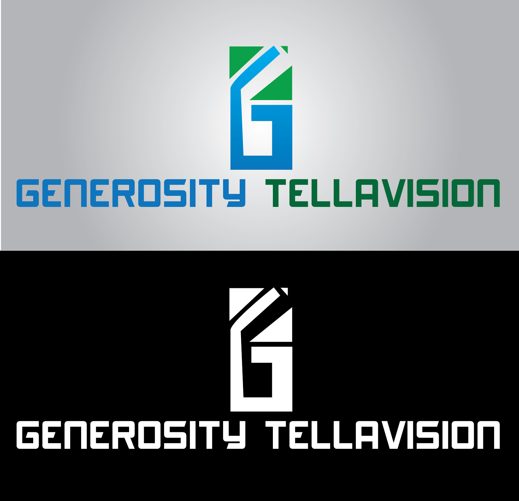 Logo Design by mediaproductionart - Entry No. 45 in the Logo Design Contest Artistic Logo Design for Generosity TellAVision.