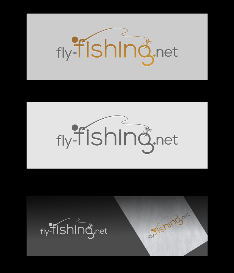 Logo Design by graphicleaf - Entry No. 32 in the Logo Design Contest Artistic Logo Design for fly-fishing.net.