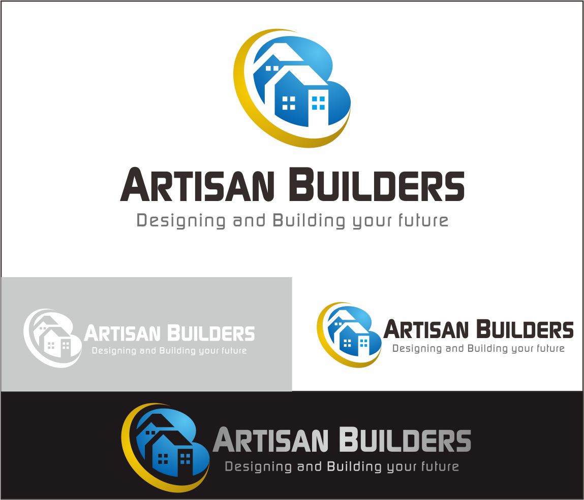 Logo Design by Armada Jamaluddin - Entry No. 147 in the Logo Design Contest Captivating Logo Design for Artisan Builders.