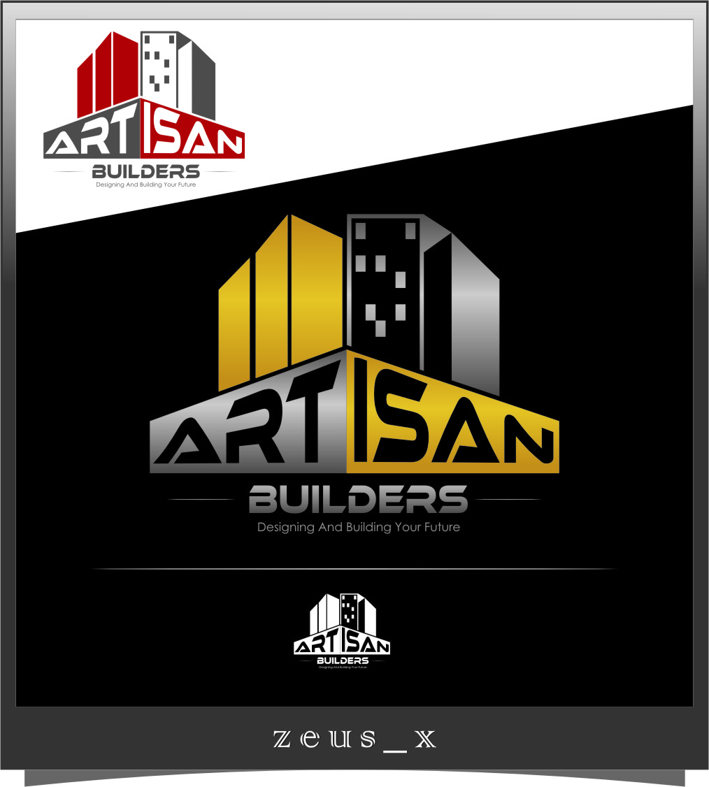 Logo Design by RasYa Muhammad Athaya - Entry No. 148 in the Logo Design Contest Captivating Logo Design for Artisan Builders.