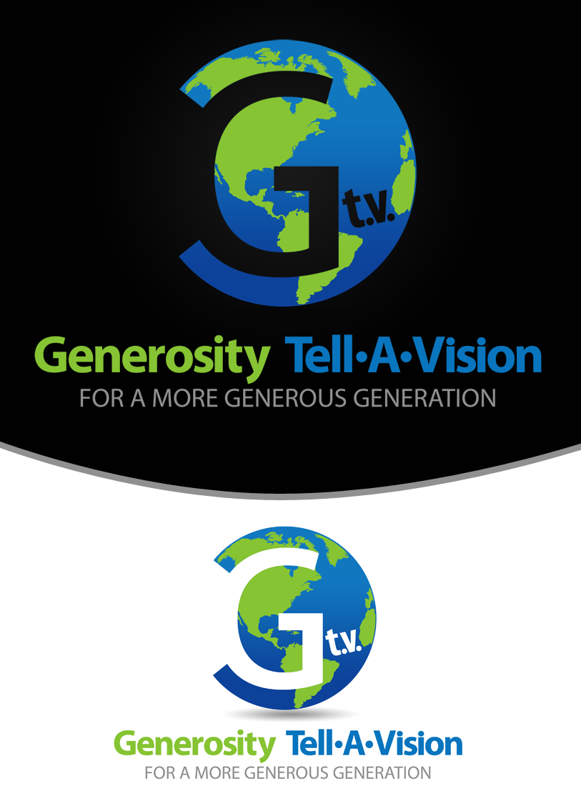 Logo Design by Private User - Entry No. 48 in the Logo Design Contest Artistic Logo Design for Generosity TellAVision.