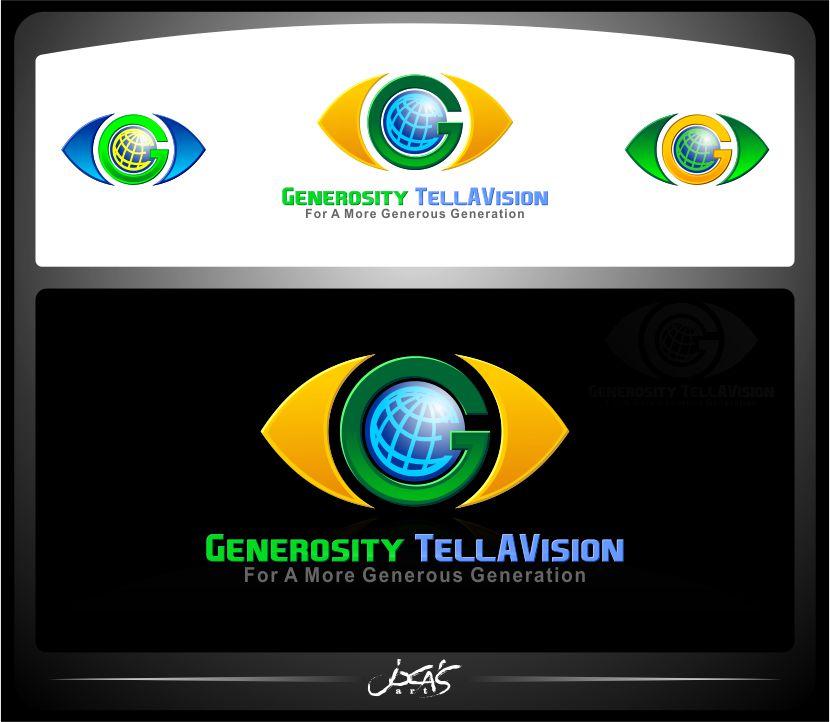 Logo Design by joca - Entry No. 49 in the Logo Design Contest Artistic Logo Design for Generosity TellAVision.