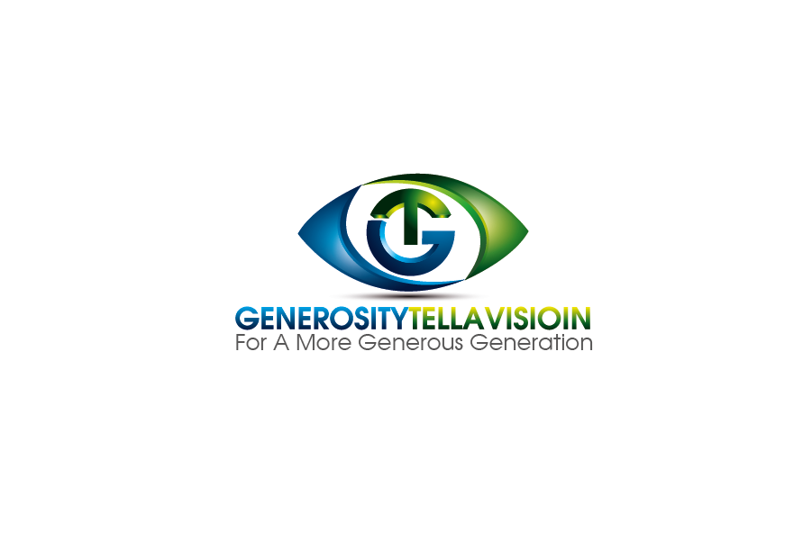 Logo Design by Private User - Entry No. 54 in the Logo Design Contest Artistic Logo Design for Generosity TellAVision.
