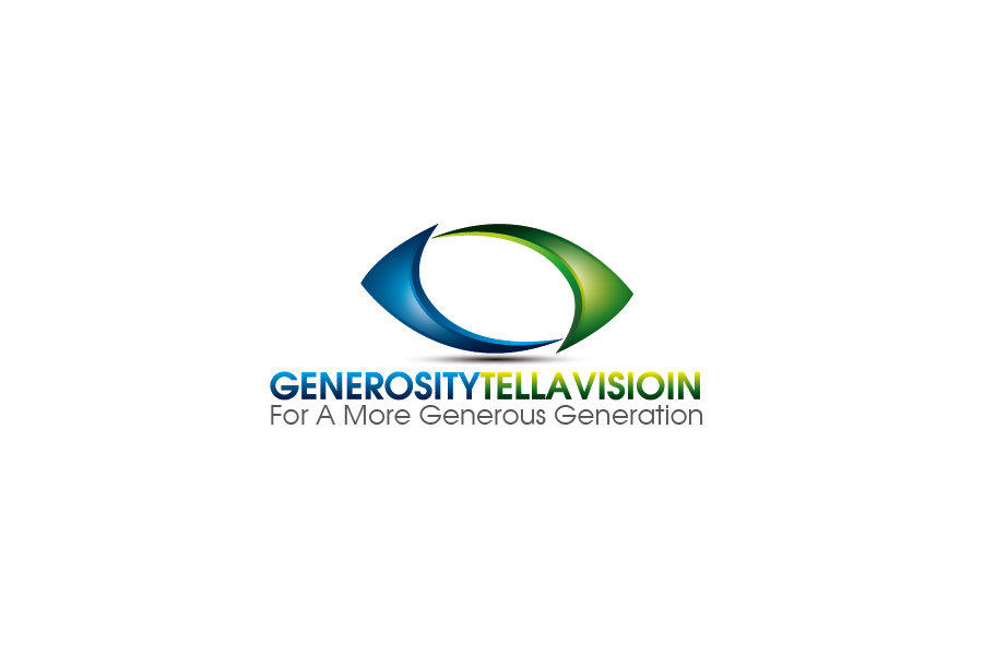 Logo Design by Private User - Entry No. 55 in the Logo Design Contest Artistic Logo Design for Generosity TellAVision.