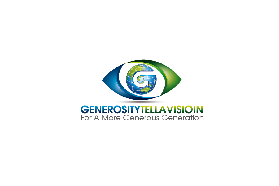 Logo Design by Private User - Entry No. 56 in the Logo Design Contest Artistic Logo Design for Generosity TellAVision.