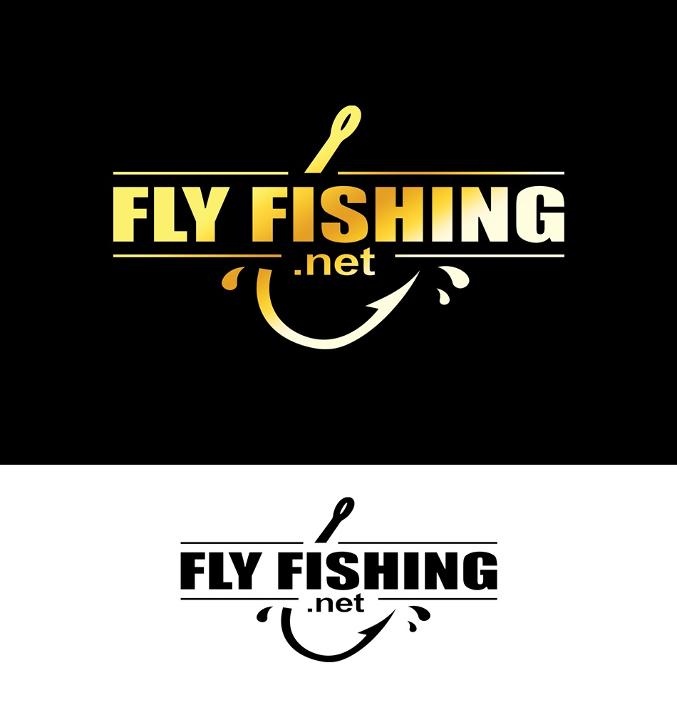 Logo Design by Respati Himawan - Entry No. 40 in the Logo Design Contest Artistic Logo Design for fly-fishing.net.