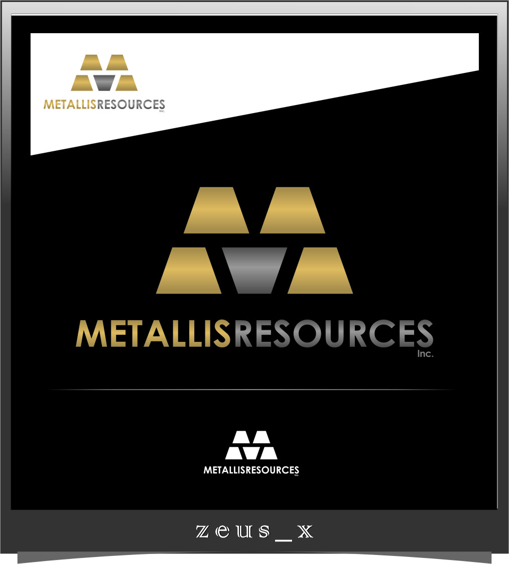 Logo Design by RasYa Muhammad Athaya - Entry No. 3 in the Logo Design Contest Metallis Resources Inc Logo Design.