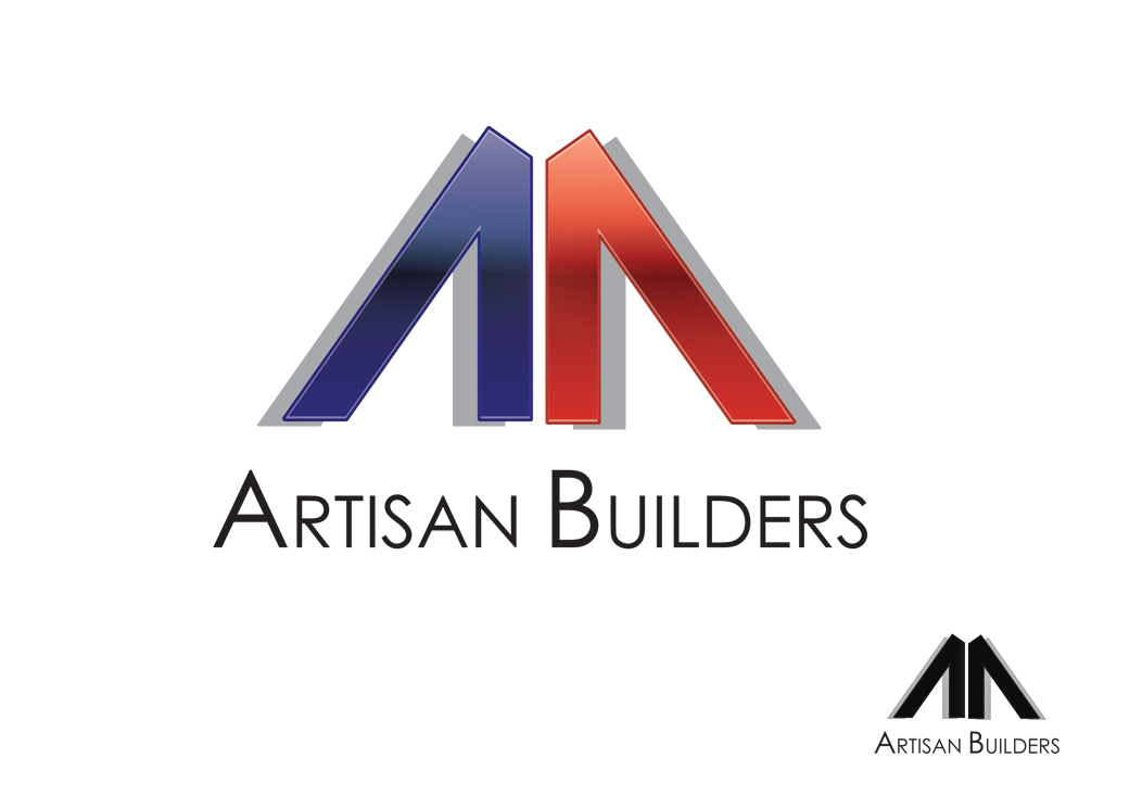Logo Design by cochinseng - Entry No. 154 in the Logo Design Contest Captivating Logo Design for Artisan Builders.