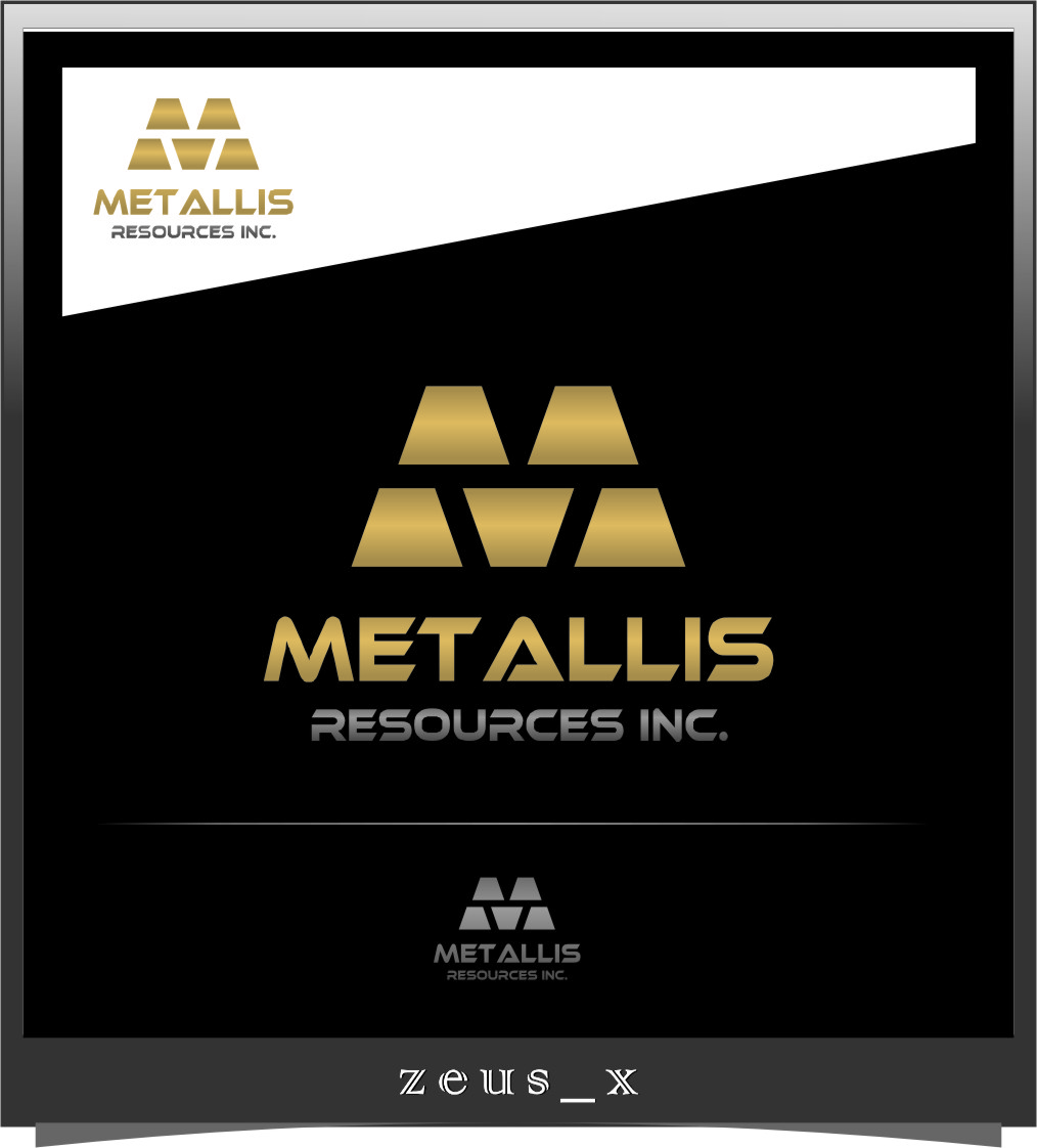 Logo Design by Ngepet_art - Entry No. 5 in the Logo Design Contest Metallis Resources Inc Logo Design.