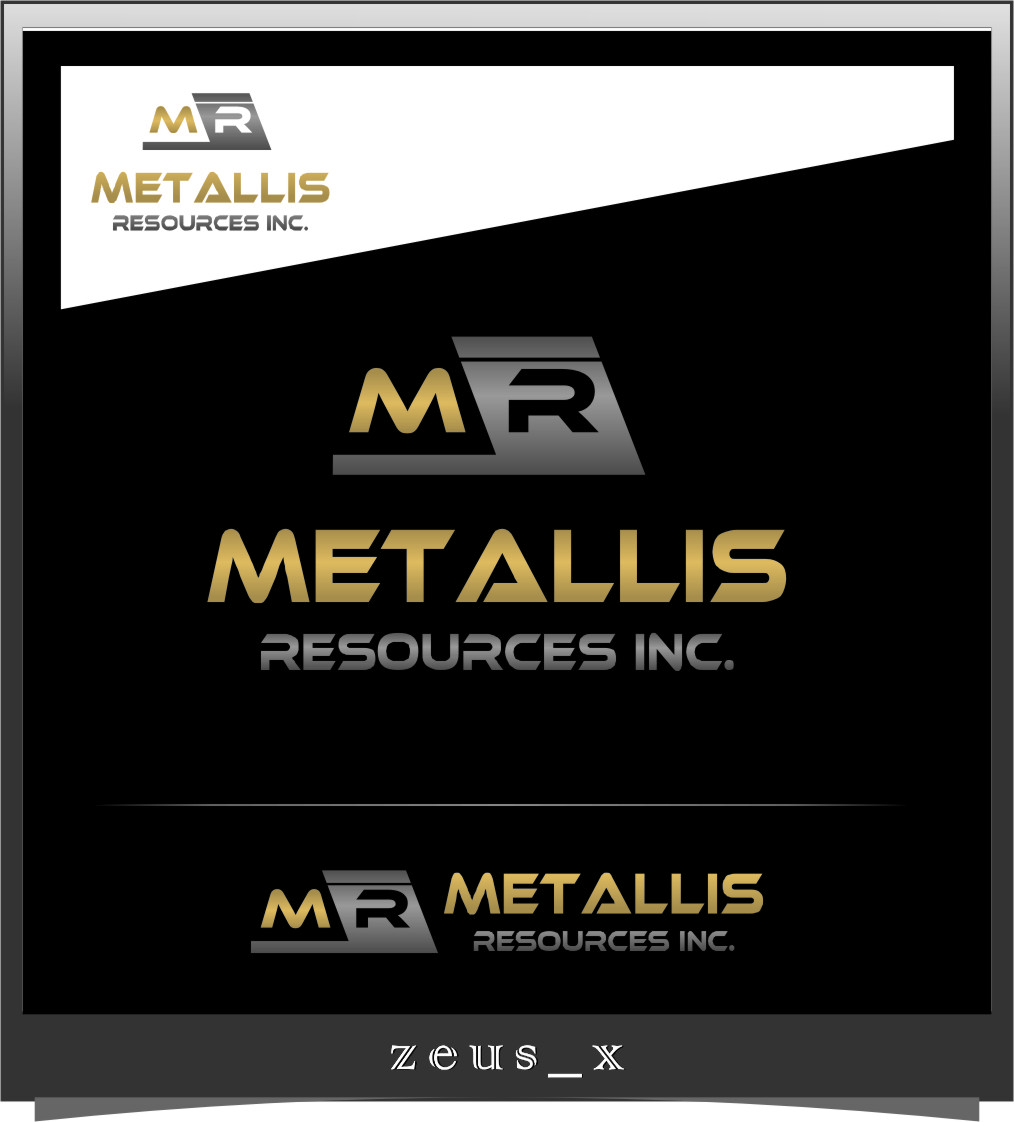 Logo Design by Ngepet_art - Entry No. 7 in the Logo Design Contest Metallis Resources Inc Logo Design.