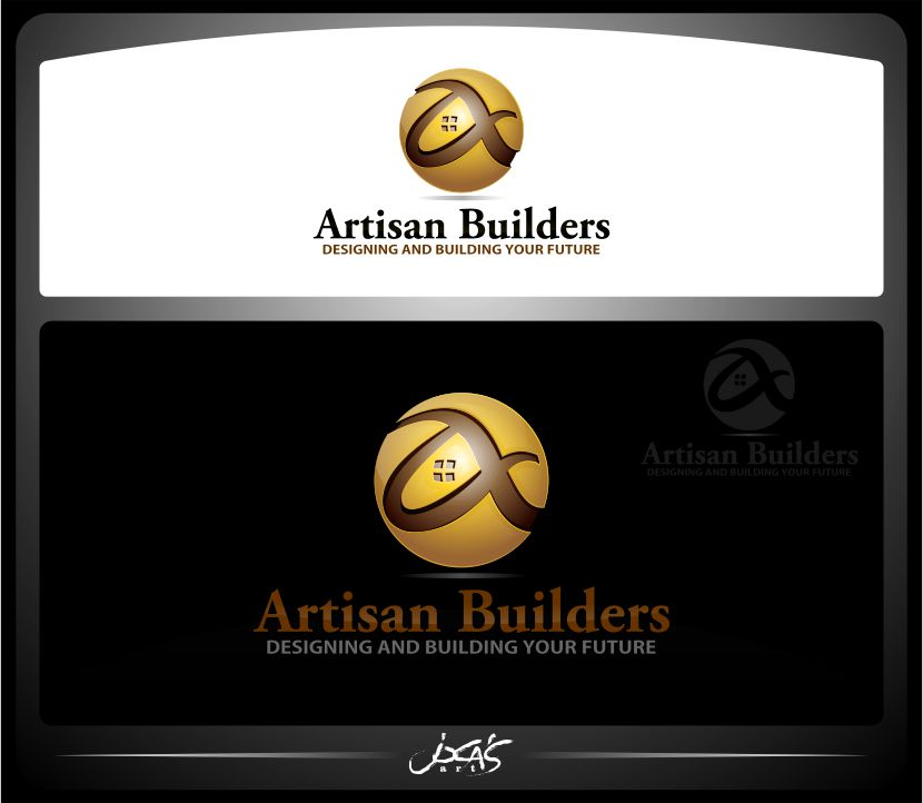 Logo Design by joca - Entry No. 155 in the Logo Design Contest Captivating Logo Design for Artisan Builders.