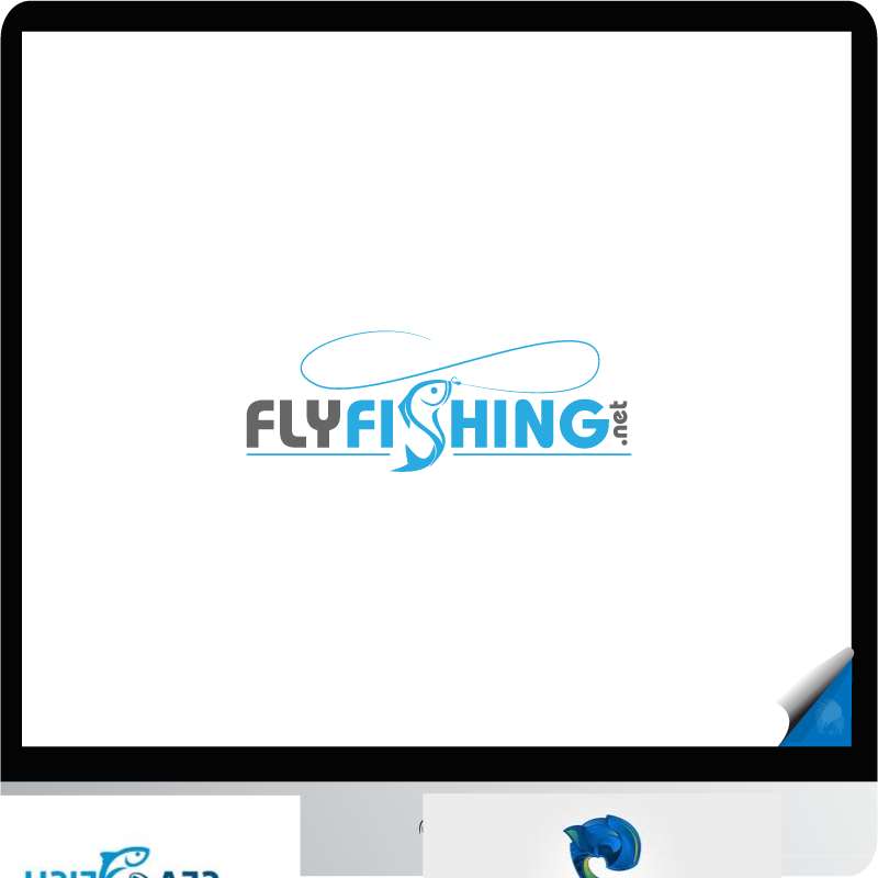 Logo Design by zesthar - Entry No. 43 in the Logo Design Contest Artistic Logo Design for fly-fishing.net.