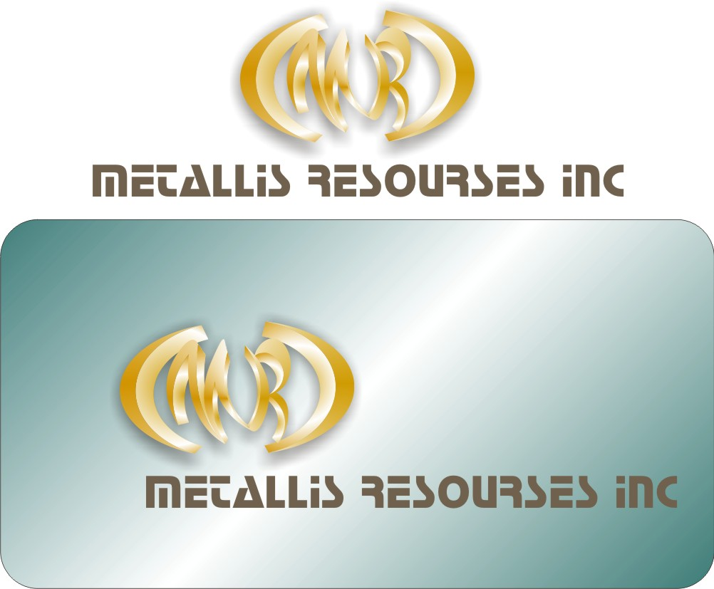 Logo Design by Korsunov Oleg - Entry No. 8 in the Logo Design Contest Metallis Resources Inc Logo Design.