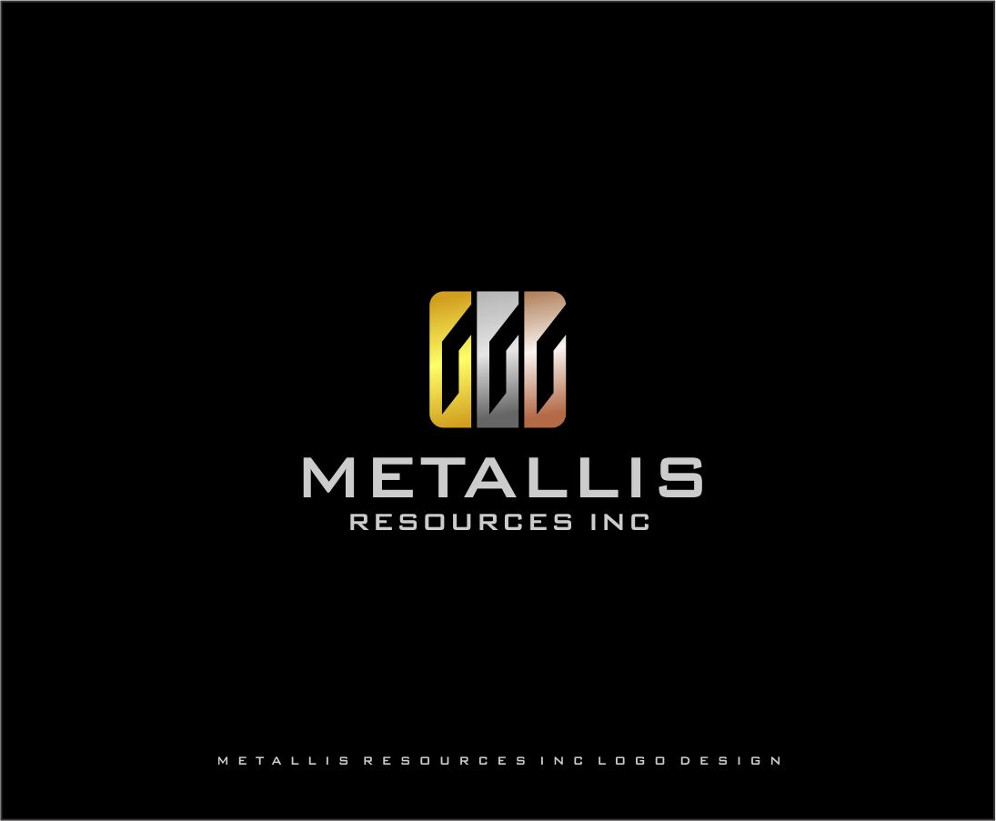 Logo Design by haidu - Entry No. 9 in the Logo Design Contest Metallis Resources Inc Logo Design.
