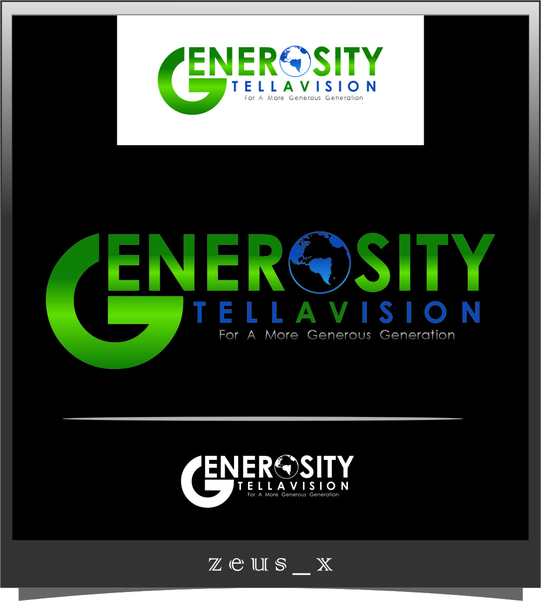 Logo Design by Ngepet_art - Entry No. 62 in the Logo Design Contest Artistic Logo Design for Generosity TellAVision.