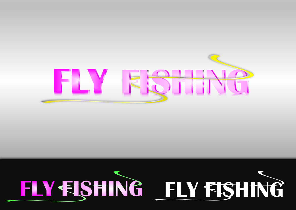 Logo Design by Heri Susanto - Entry No. 48 in the Logo Design Contest Artistic Logo Design for fly-fishing.net.