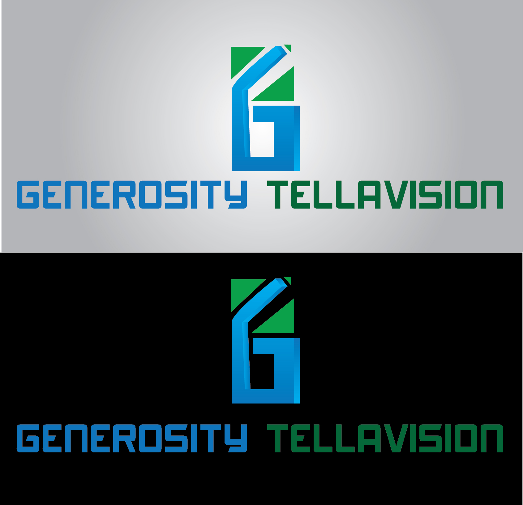 Logo Design by mediaproductionart - Entry No. 67 in the Logo Design Contest Artistic Logo Design for Generosity TellAVision.