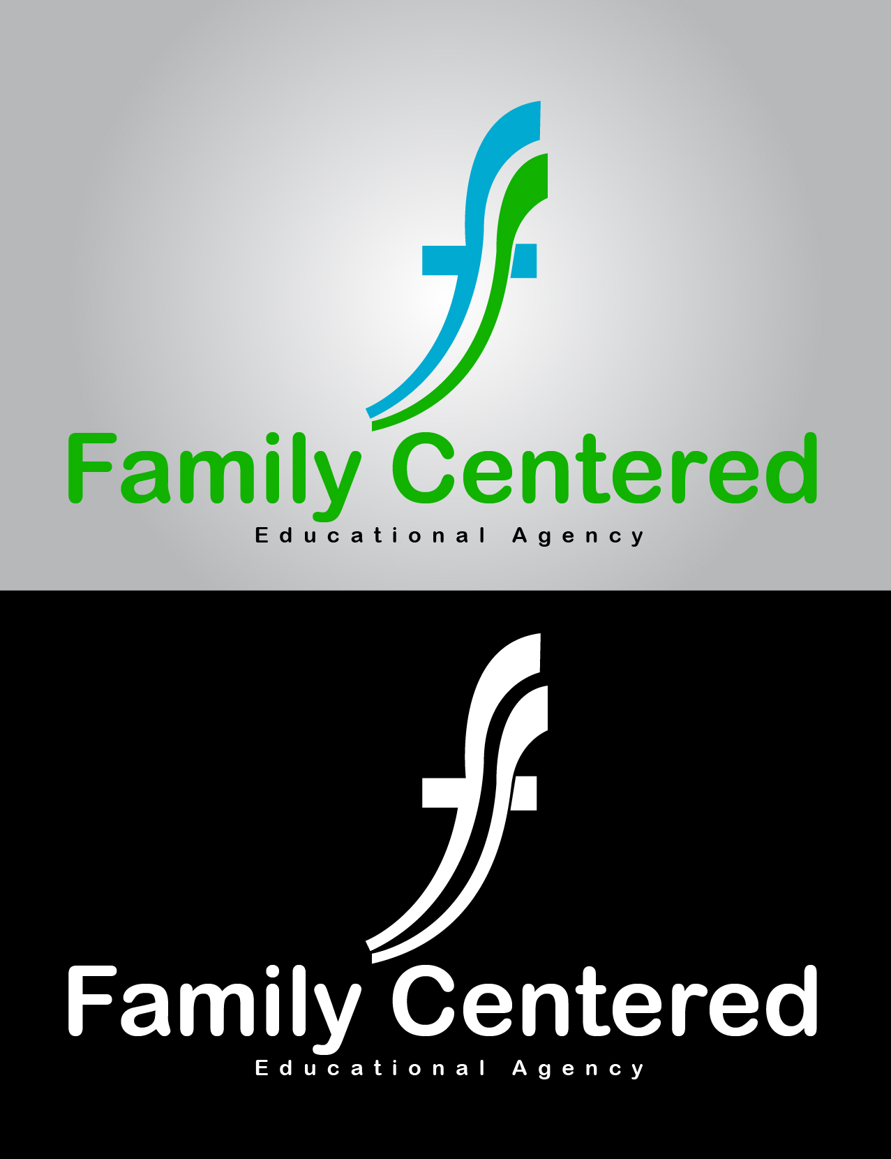 Logo Design by mediaproductionart - Entry No. 28 in the Logo Design Contest Captivating Logo Design for Family Centered Educational Agency.