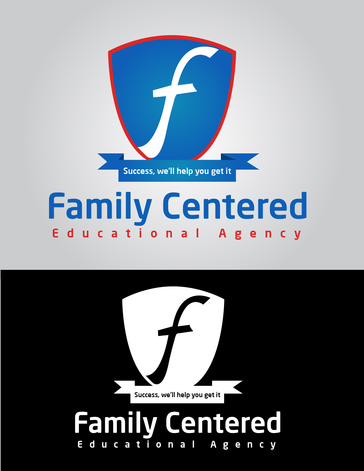 Logo Design by mediaproductionart - Entry No. 30 in the Logo Design Contest Captivating Logo Design for Family Centered Educational Agency.