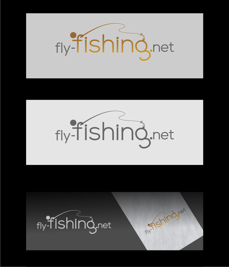 Logo Design by graphicleaf - Entry No. 50 in the Logo Design Contest Artistic Logo Design for fly-fishing.net.