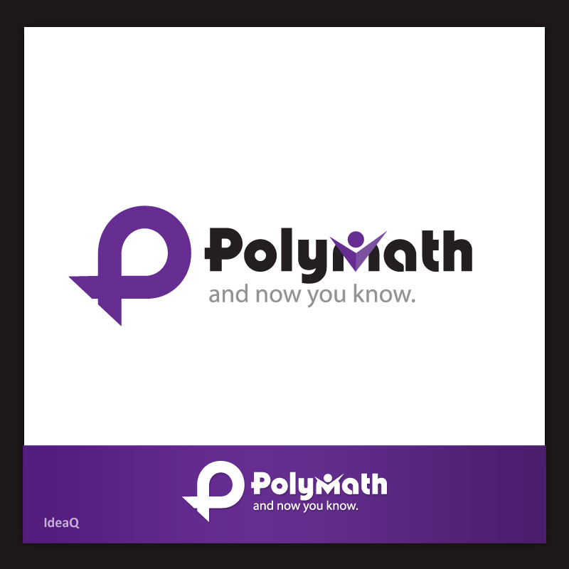 Logo Design by Private User - Entry No. 43 in the Logo Design Contest Imaginative Logo Design for Polymath.