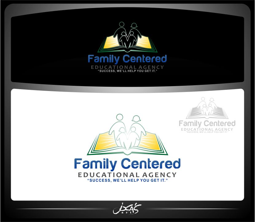 Logo Design by joca - Entry No. 34 in the Logo Design Contest Captivating Logo Design for Family Centered Educational Agency.