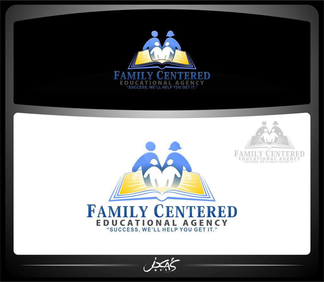 Logo Design by joca - Entry No. 36 in the Logo Design Contest Captivating Logo Design for Family Centered Educational Agency.