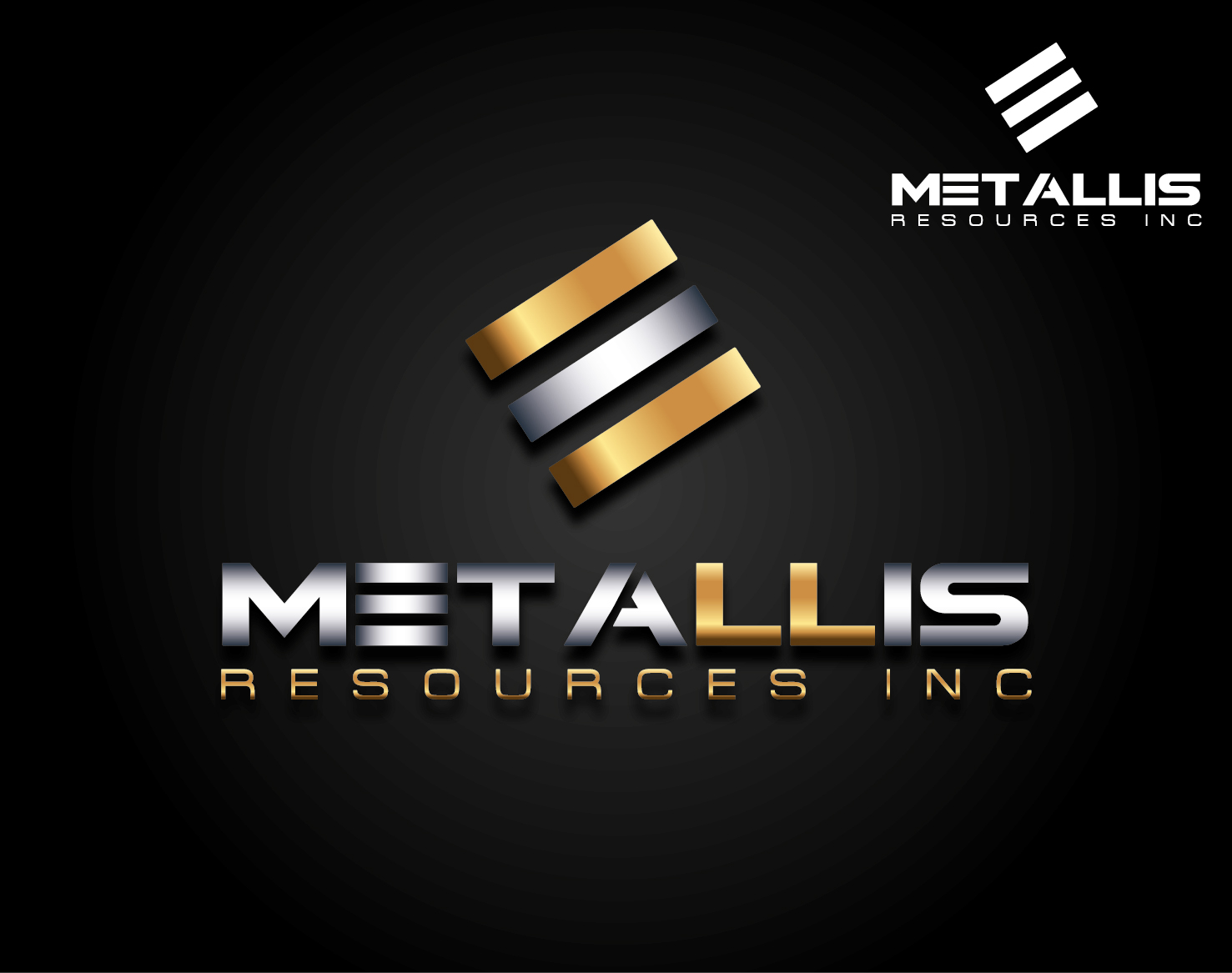 Logo Design by VENTSISLAV KOVACHEV - Entry No. 23 in the Logo Design Contest Metallis Resources Inc Logo Design.