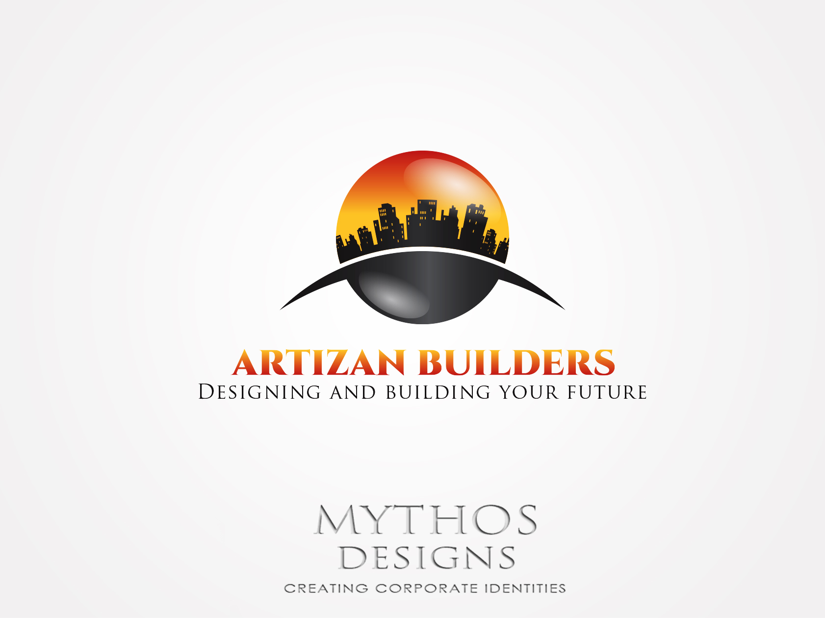 Logo Design by Mythos Designs - Entry No. 161 in the Logo Design Contest Captivating Logo Design for Artisan Builders.