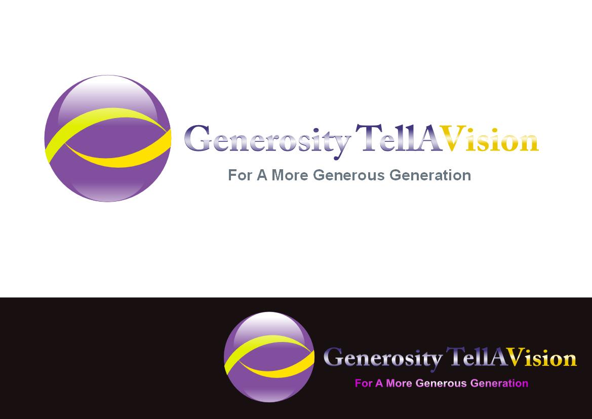 Logo Design by Heri Susanto - Entry No. 75 in the Logo Design Contest Artistic Logo Design for Generosity TellAVision.
