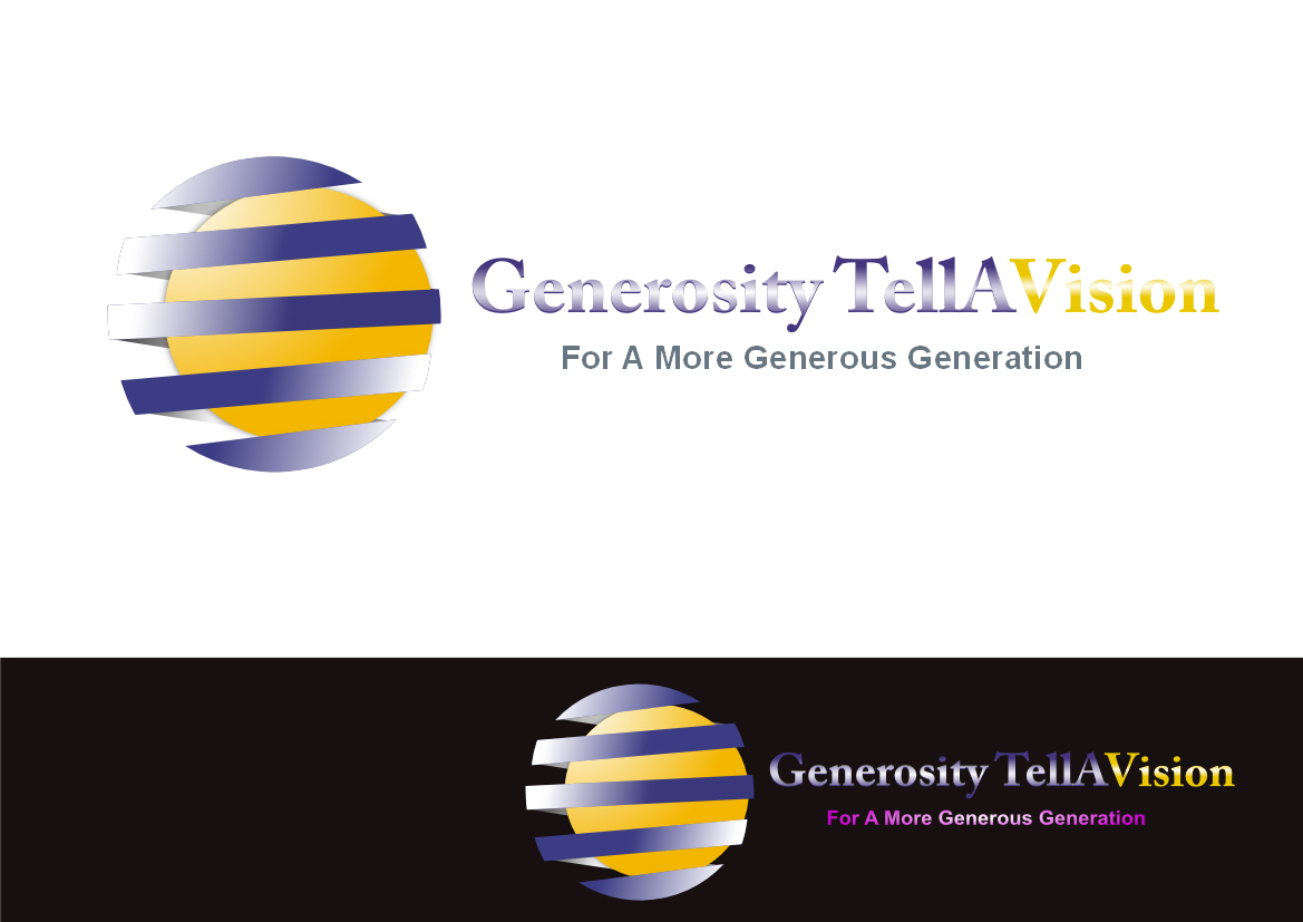 Logo Design by Heri Susanto - Entry No. 76 in the Logo Design Contest Artistic Logo Design for Generosity TellAVision.