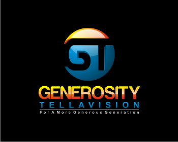 Logo Design by Deni Prawira - Entry No. 77 in the Logo Design Contest Artistic Logo Design for Generosity TellAVision.