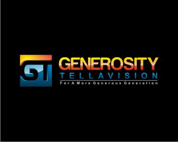Logo Design by Deni Prawira - Entry No. 78 in the Logo Design Contest Artistic Logo Design for Generosity TellAVision.
