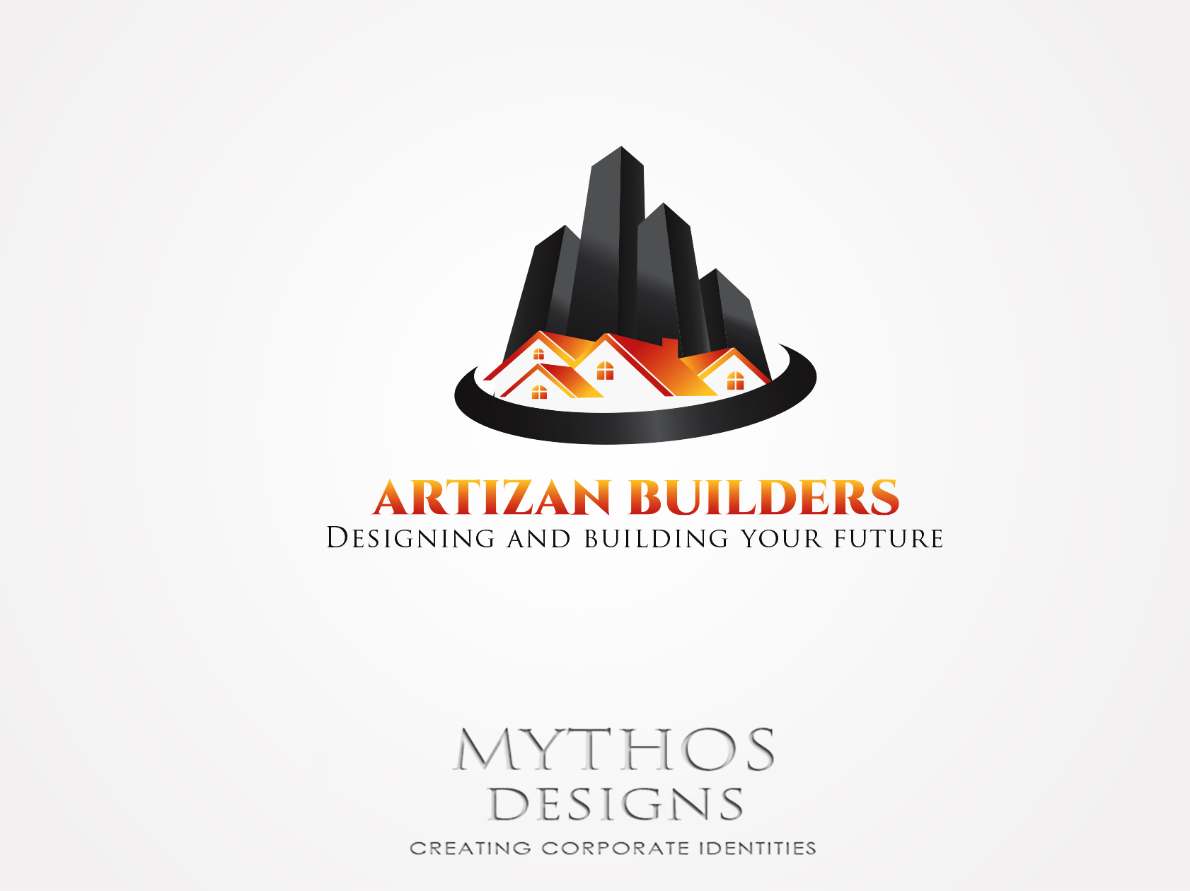 Logo Design by Mythos Designs - Entry No. 162 in the Logo Design Contest Captivating Logo Design for Artisan Builders.