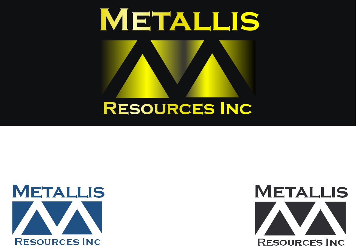 Logo Design by Heri Susanto - Entry No. 28 in the Logo Design Contest Metallis Resources Inc Logo Design.