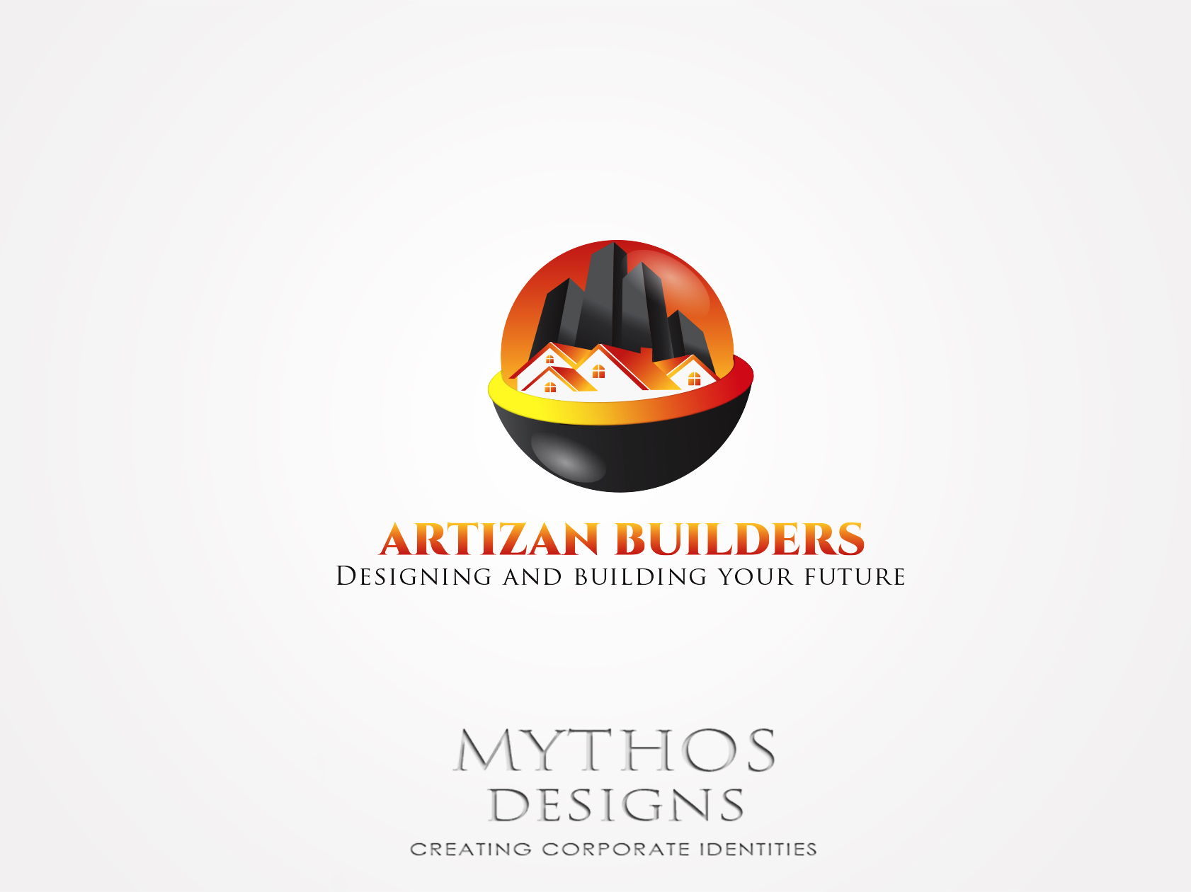 Logo Design by Mythos Designs - Entry No. 163 in the Logo Design Contest Captivating Logo Design for Artisan Builders.