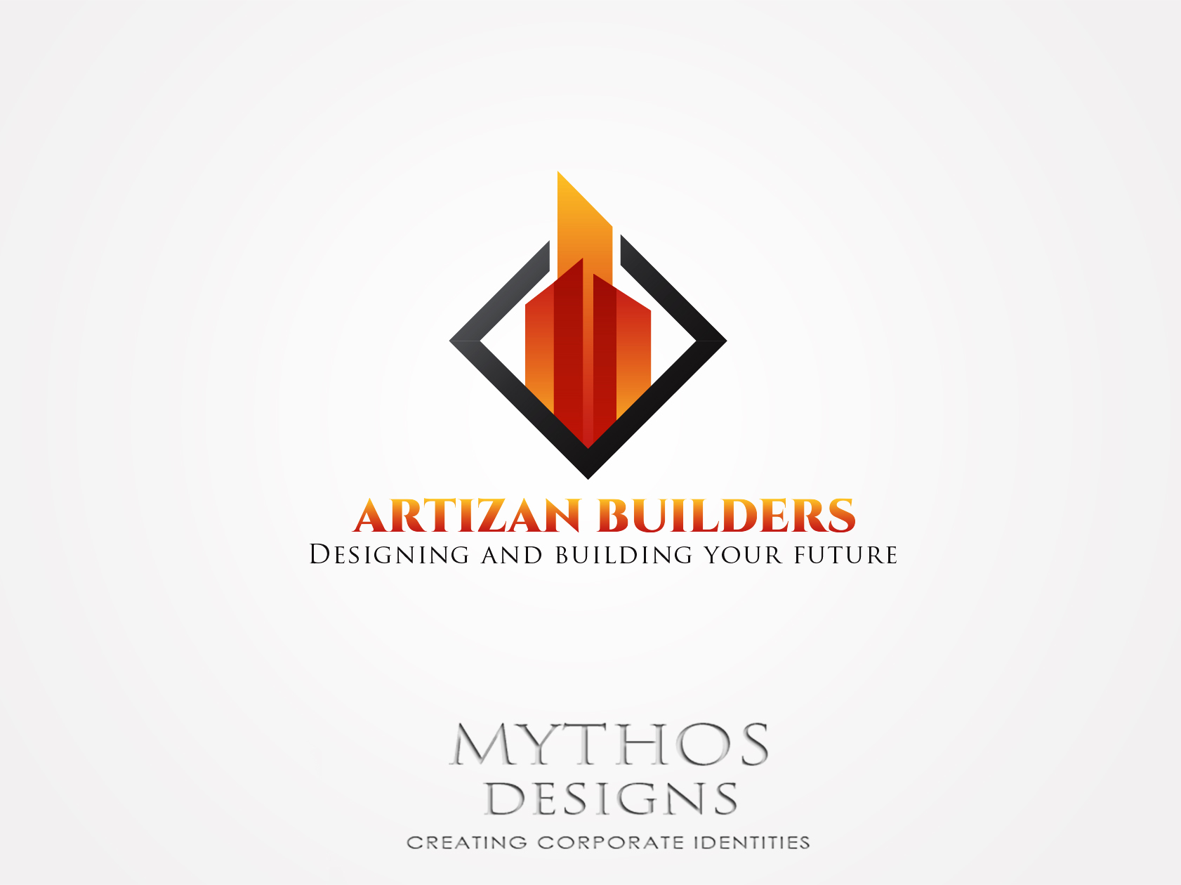 Logo Design by Mythos Designs - Entry No. 164 in the Logo Design Contest Captivating Logo Design for Artisan Builders.