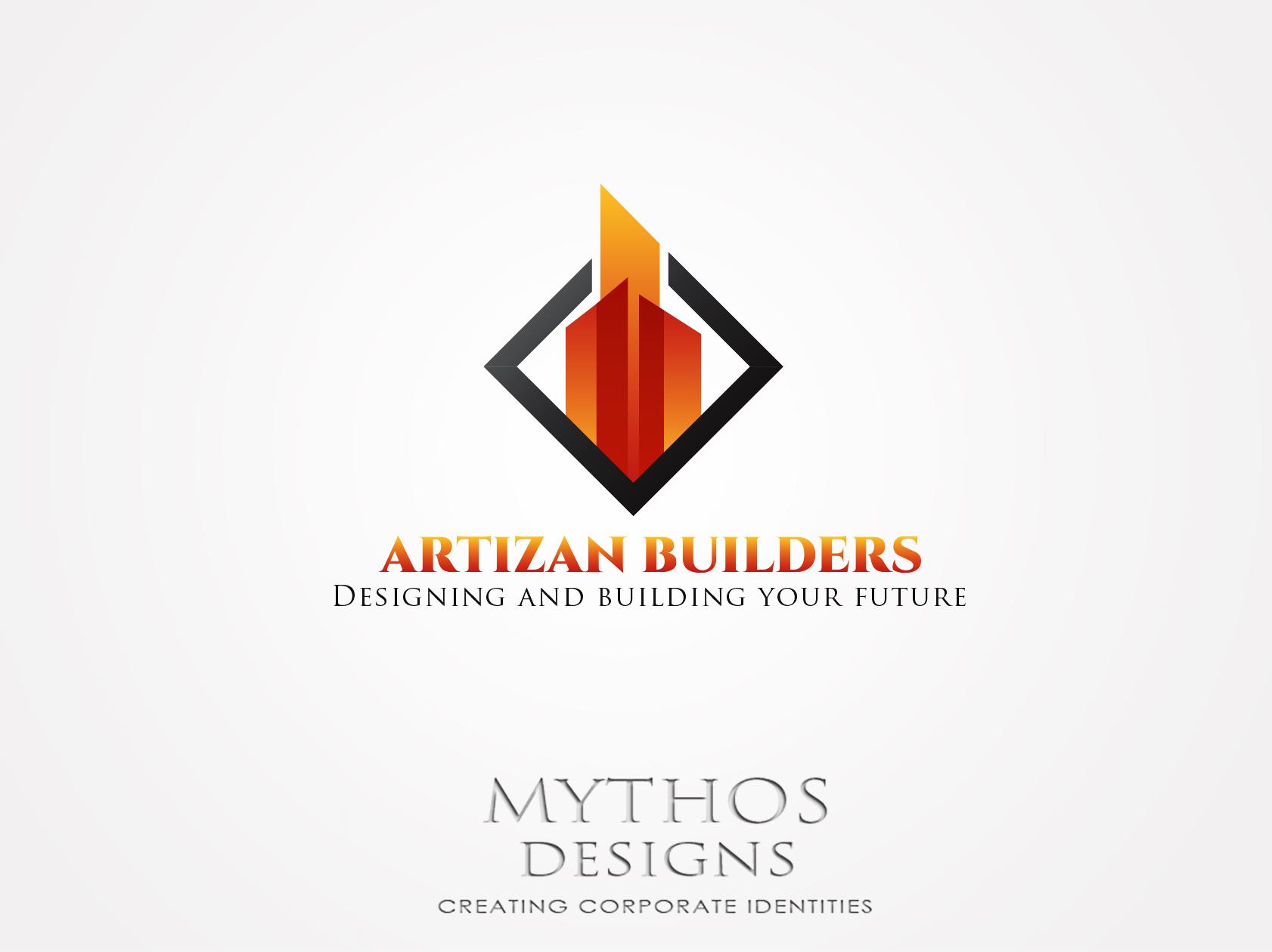 Logo Design by Mythos Designs - Entry No. 164 in the Logo Design Contest Captivating Logo Design for Artisan Builders.