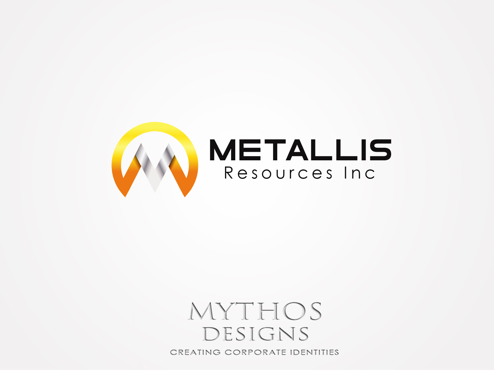 Logo Design by Mythos Designs - Entry No. 31 in the Logo Design Contest Metallis Resources Inc Logo Design.
