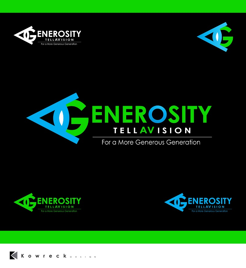 Logo Design by kowreck - Entry No. 88 in the Logo Design Contest Artistic Logo Design for Generosity TellAVision.