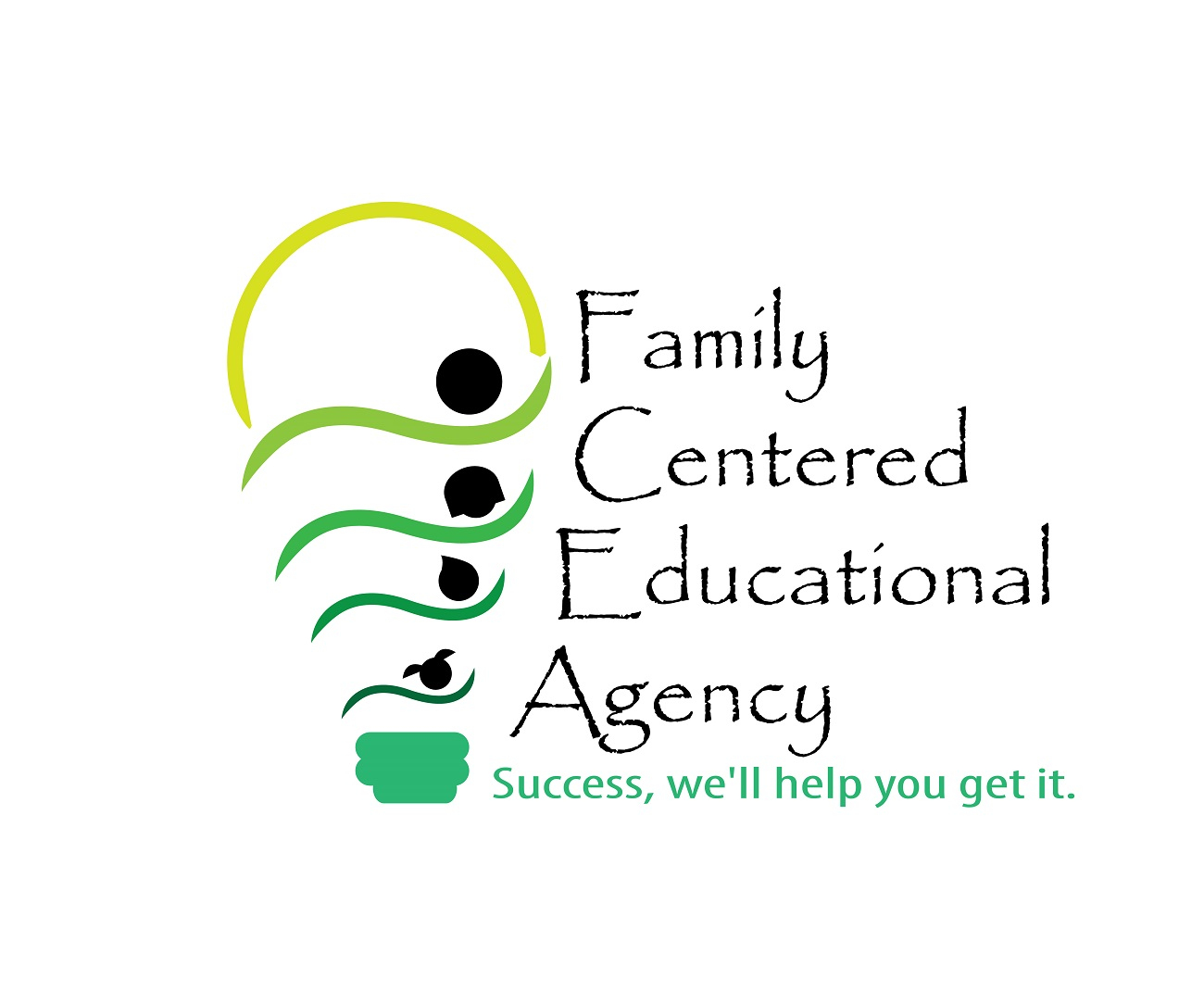 Logo Design by jhunzkie24 - Entry No. 42 in the Logo Design Contest Captivating Logo Design for Family Centered Educational Agency.