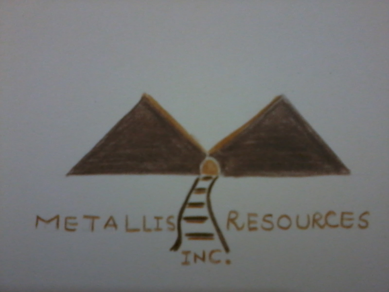 Logo Design by mediaproductionart - Entry No. 33 in the Logo Design Contest Metallis Resources Inc Logo Design.