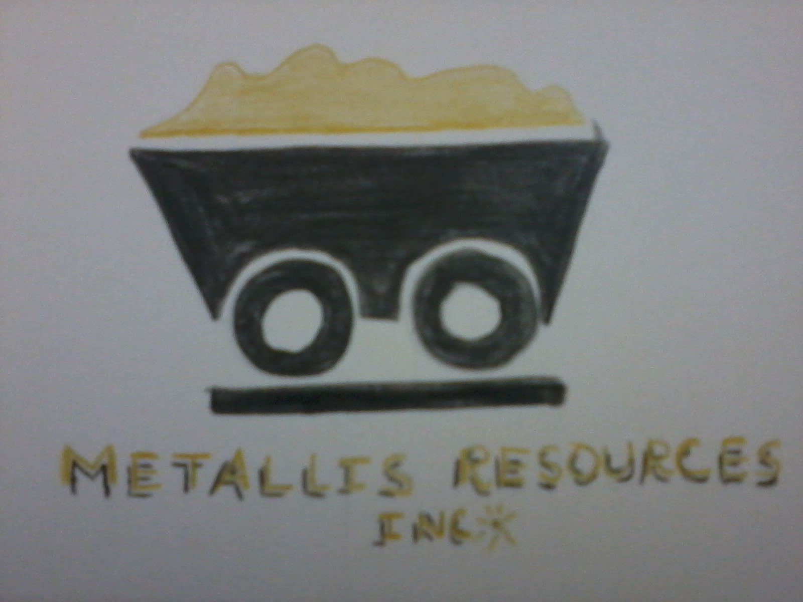 Logo Design by mediaproductionart - Entry No. 34 in the Logo Design Contest Metallis Resources Inc Logo Design.