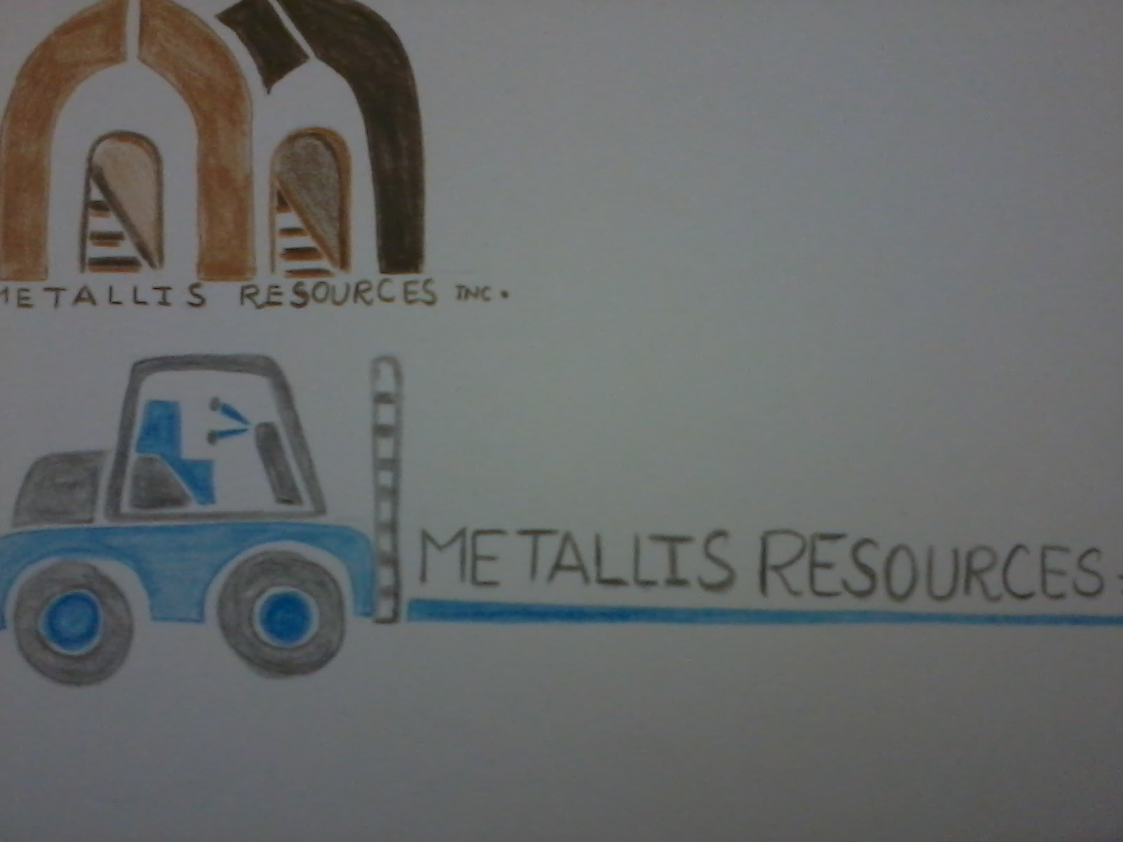 Logo Design by mediaproductionart - Entry No. 37 in the Logo Design Contest Metallis Resources Inc Logo Design.