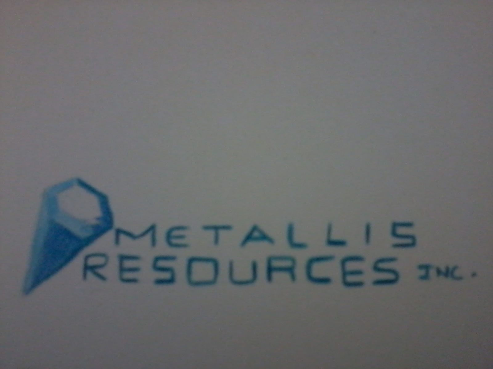 Logo Design by mediaproductionart - Entry No. 38 in the Logo Design Contest Metallis Resources Inc Logo Design.