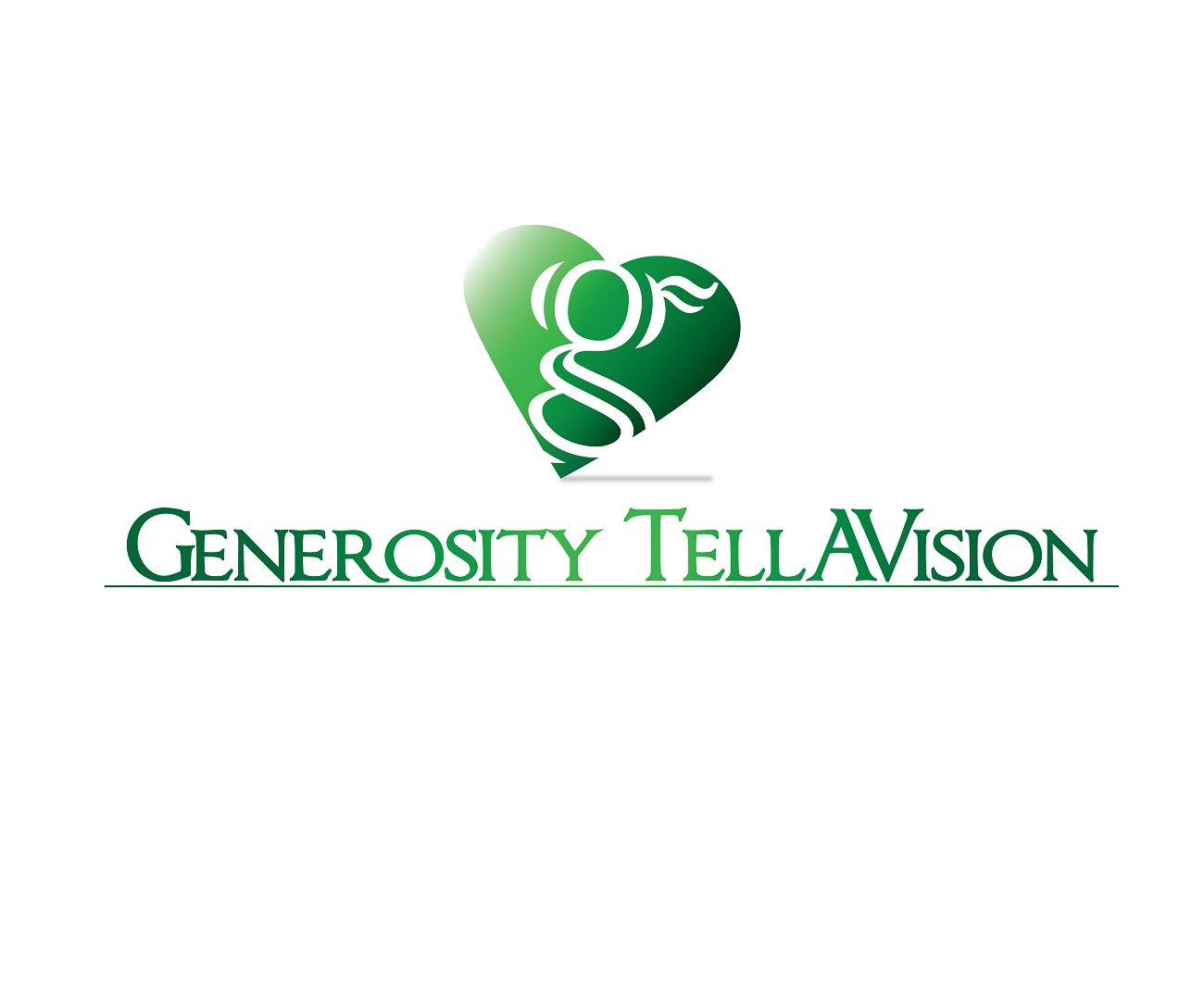 Logo Design by jhunzkie24 - Entry No. 89 in the Logo Design Contest Artistic Logo Design for Generosity TellAVision.