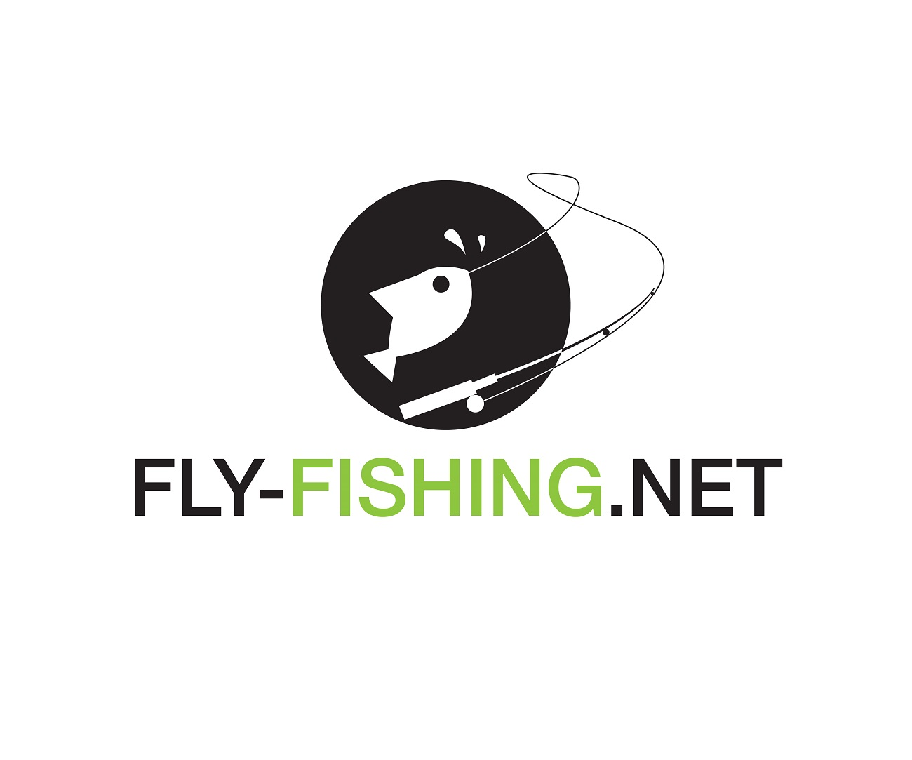 Logo Design by jhunzkie24 - Entry No. 70 in the Logo Design Contest Artistic Logo Design for fly-fishing.net.